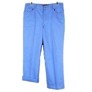 Gloria Vanderbilt Amanda Jeans 6 Short Embroidered